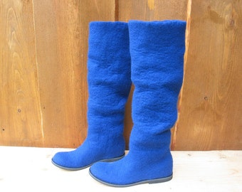 Felted boots FELICITA
