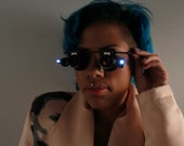 LED Light Glasses by C. Walthall