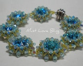 Swarovski Ocean Blue Rivoli Bracelet