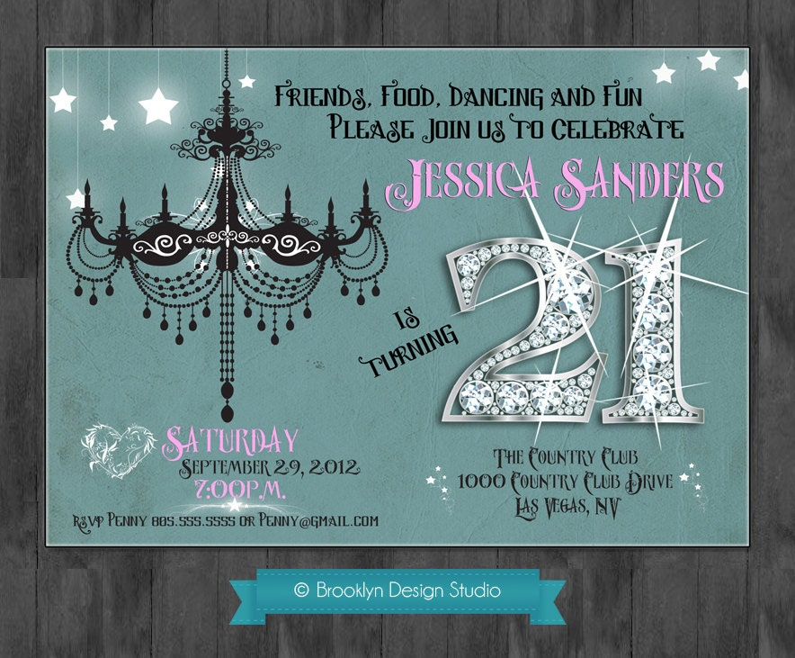 Create 21St Birthday Invitations Free is great invitations example