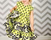 Isabella's Criss Cross Twirl Dress PDF Pattern Sizes 18 mo. - 10