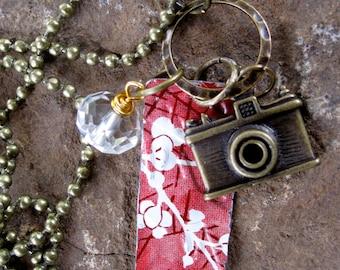 Gypsy Soul Paparazzi Vintage Tin Charm Necklace