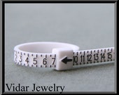 Engagement Ring,Wedding Ring,RING SIZER - Custom rings for you in your size - Use this ring sizer to find out your exact size.