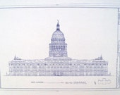 Texas State Capitol Building Blueprint