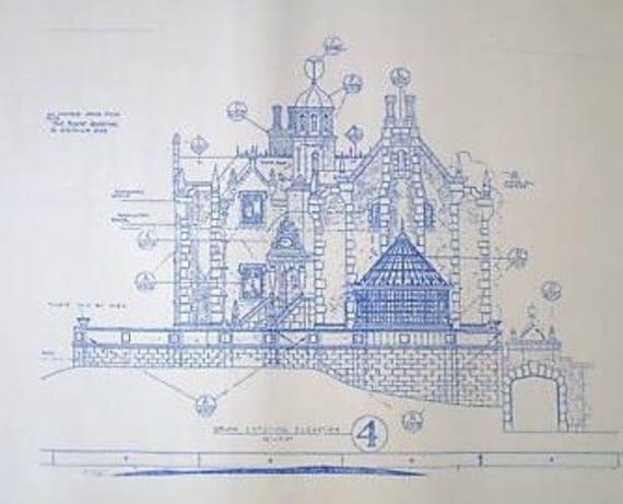 Walt Disney World Haunted Mansion South By Blueprintplace