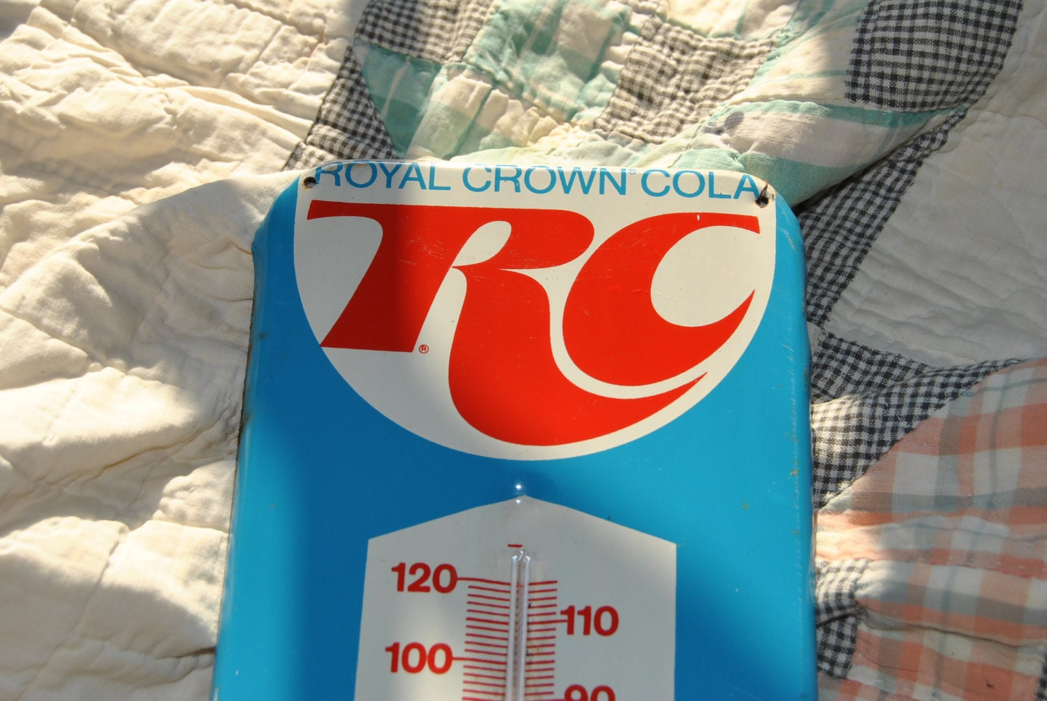 Rc Cola And Peanuts: Vintage RC Cola Thermometer