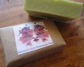 Home Made Cold Process Soap- Mango Patchouli - 6.1 oz