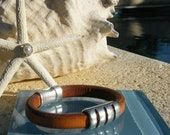 Men's Regaliz Leather Bracelet