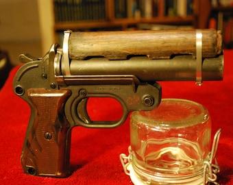 Steampunk Blade Runner Pistol, Steampunk Pistol, Prop Weapon