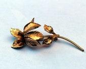Vintage Iris brooch