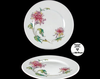 Vintage Elite-Limoges Dahlia Bread and Butter Plate