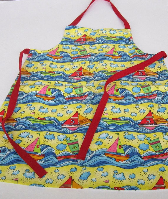 Child's Reversible Apron One Side for Christmas