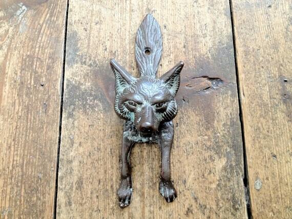 Vintage Fox Door knocker