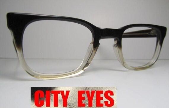 1950s Horn Rimmed Clear optical frames for Eyeglasses or Sunglasses original VINTAGE Men's