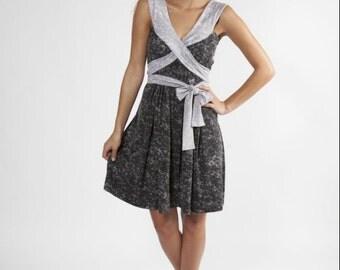 Wrap dress / Evening dress / Elegant  dress / Formal black dress / summer dress / ON SALE / Dress