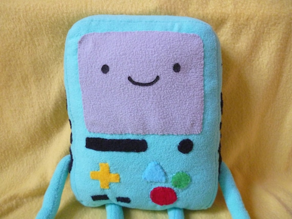 Beemo Plush Adventure Time BMO handstitched
