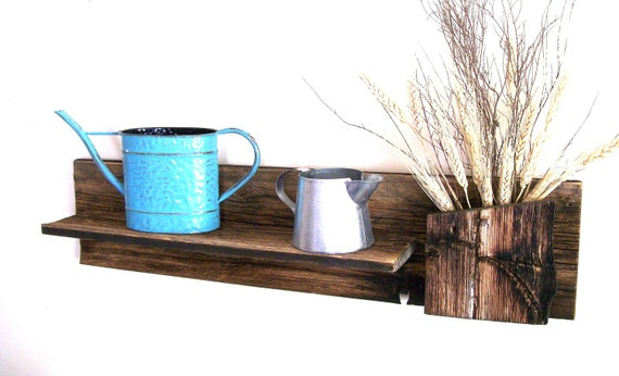 Rustic / Reclaimed / Barn Wood Wall Shelf