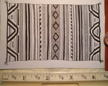 American Indian rug, blanket, weaving  rubber stamp un-mounted scrapbooking rubber stamping