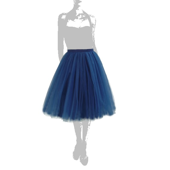 navy blue tulle skirt carrie bradshaw inspired tutu and