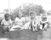 Cute Kids and Children - Boys and Girls Enjoy a Lazy Summer Day