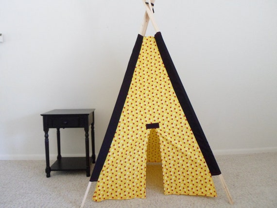 Little Lady Bugs Childrens Teepee, Play Tent, Tipi,  Indoor Tent, Tepee