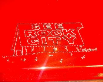 See Rock City Barn Personalized Cake Pan Custom