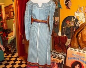 Tina Leser Original Maxi Skirt & Shirt Set Size 8