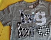 Big Brother Shirt, Big Bro, Sibling Shirts, Big Little Shirts, Big Brother T-Shirt, Big Bro T-Shirt