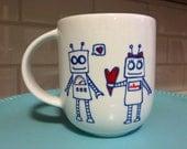 Coffee Mug - Robot Love
