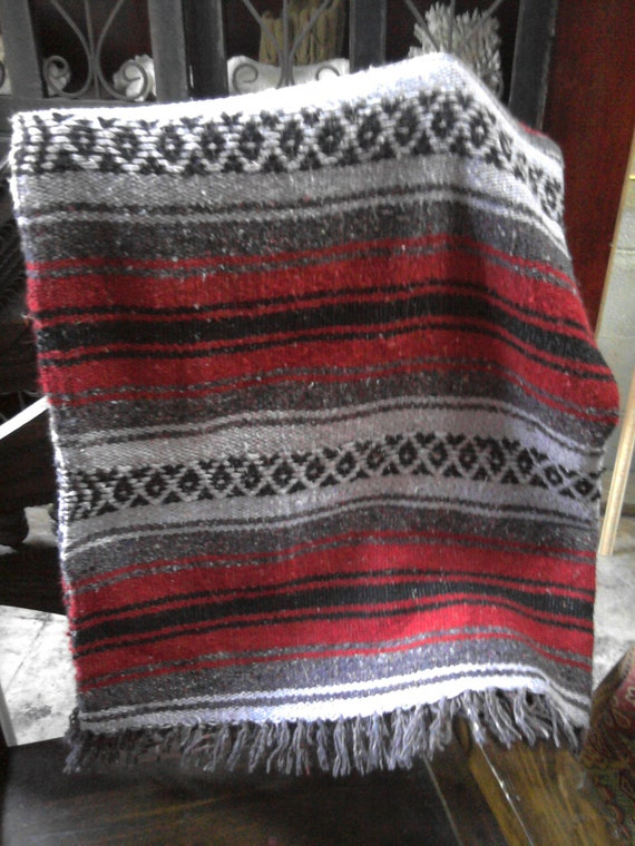 Love vintage mexican blanket another gils