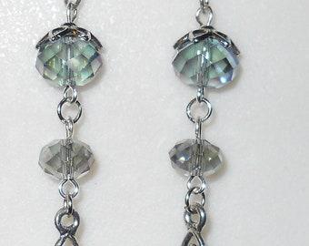 Petite Earth Mother Goddess dangle Earrings