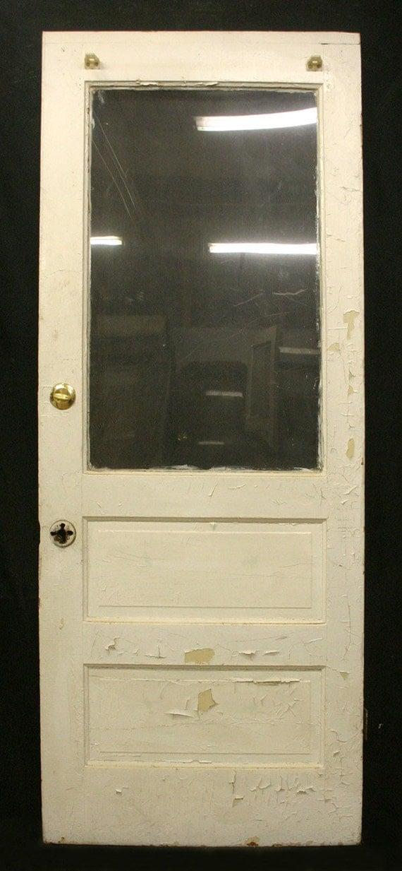 31x80 Antique Victorian Interior Pine Wood Door