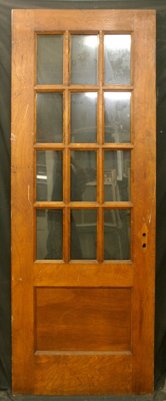 items similar to 32 x84 antique exterior entry birch wood