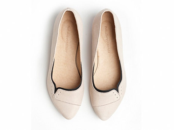 30% OFF Ninna flats in Sand color