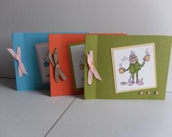 Monkey Coffee Cards