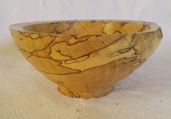 Beautiful Spalted Beech Bowl