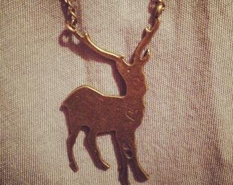 Darling Deer Necklace
