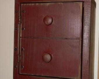 Thermostat cover, Primitive, Wooden home decor,