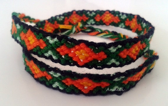 Micromacrame Knotted Friendship Bracelet or Necklace - Made to order