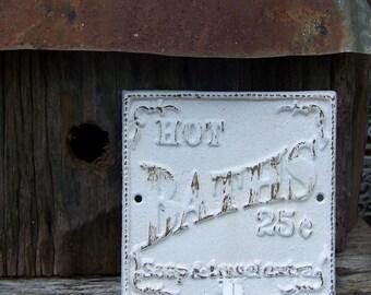 Decorative Cast Iron Bathroom Hook-Shabby Chic Decor