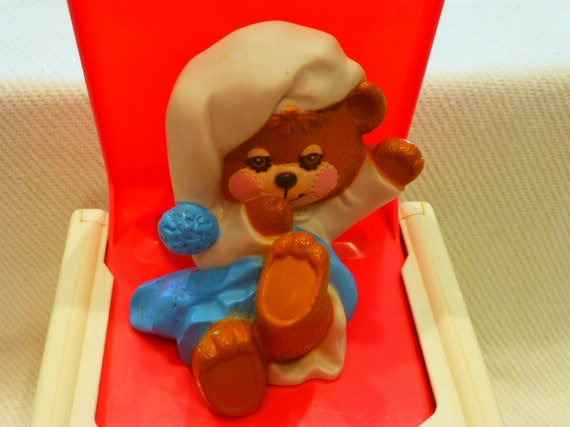 Teddy Beddy Bear Jack In The Box Musical Chime 1987