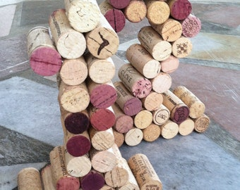 Wine Cork Table Numbers Great for Weddings or Parties