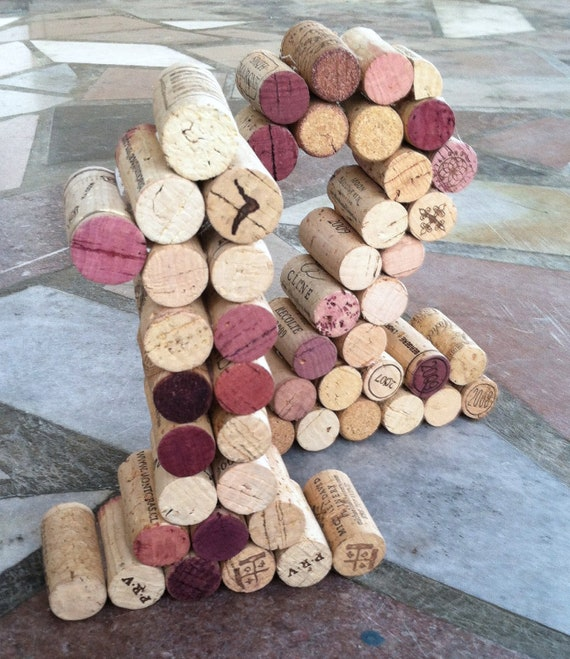 Wine Cork Table Design: Items Similar To Wine Cork Table Numbers Great For