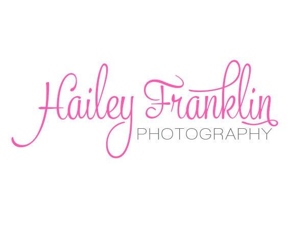 script photography logo design custom premade logo design