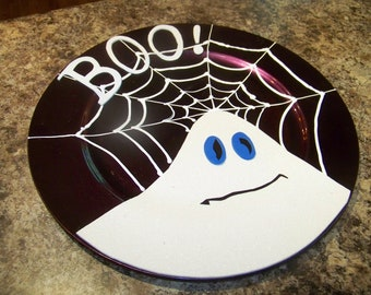 Ghost with Boo plate