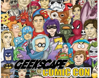 Geekscape SDCC 2012 print