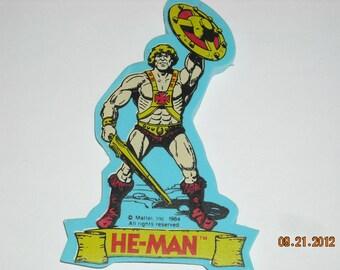vintage master of the universe he-man eraser