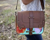 SMALL Floral Shoulder Bag