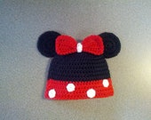 Baby Minnie Mouse Hat