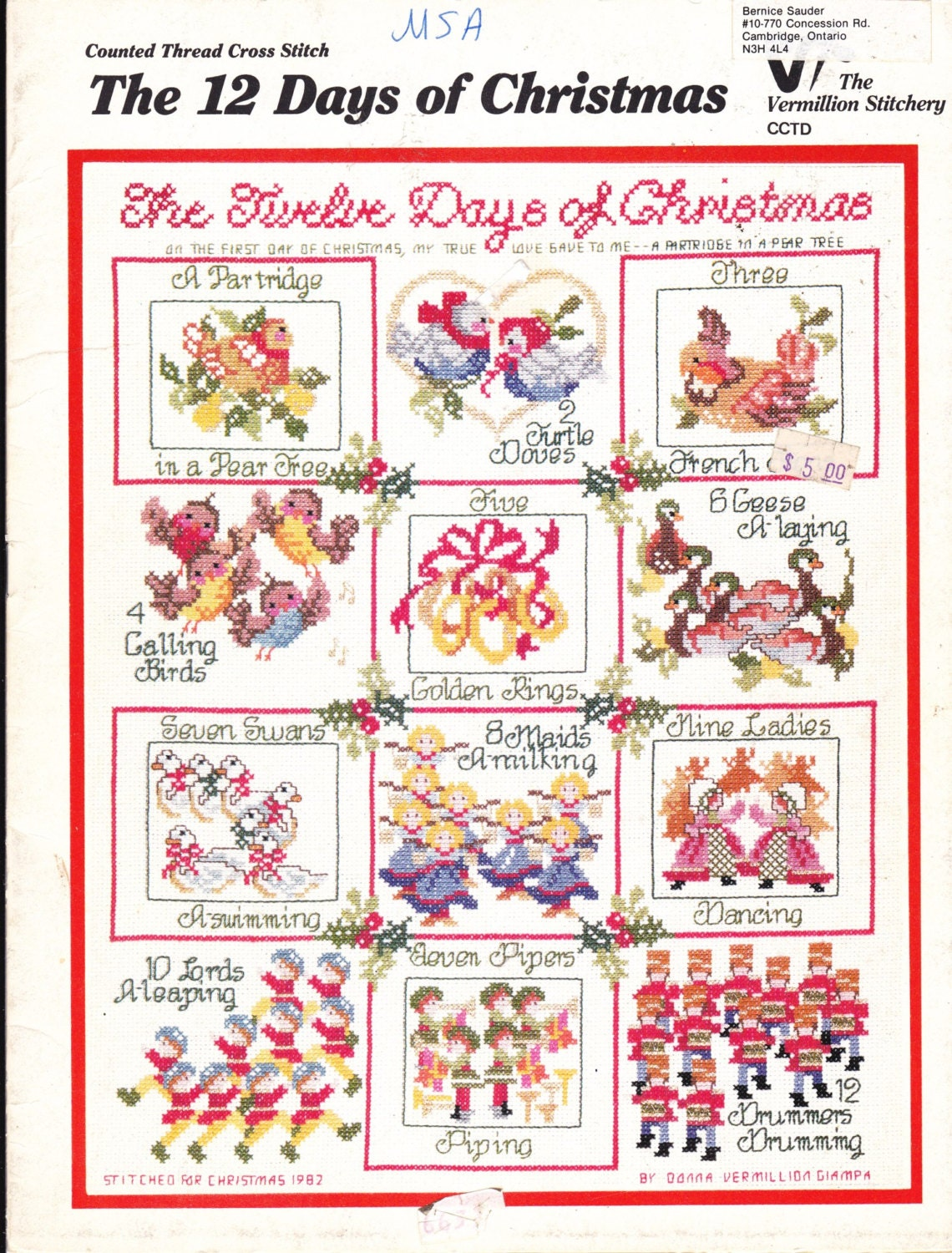 The twelve 12 days of christmas in counted by everypictellsastory